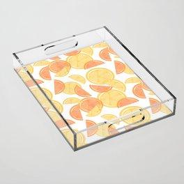14 Citrus Showers Acrylic Tray