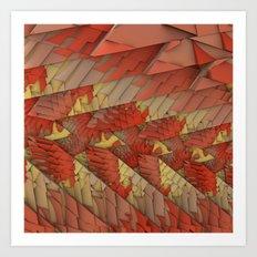 Shattered Again Art Print