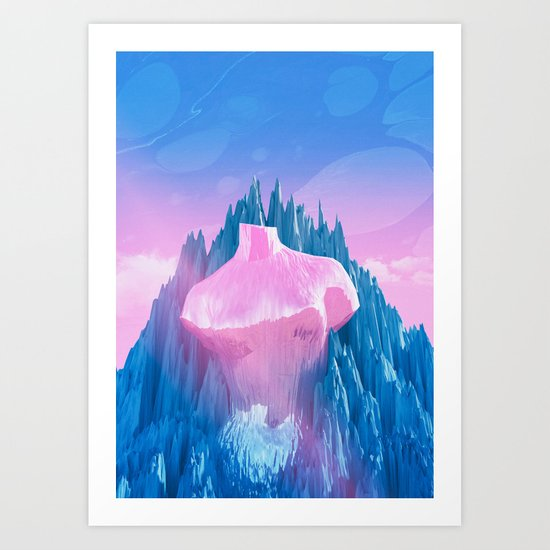 Mount Venus Art Print
