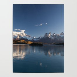 Torres Del Paine Patagonia Chile Poster