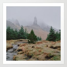 Old Man of Storr Art Print