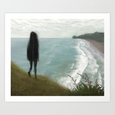 The View From Lion Rock Art Print