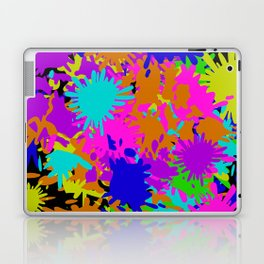 Splatoon Ink Fight Pattern Laptop & iPad Skin