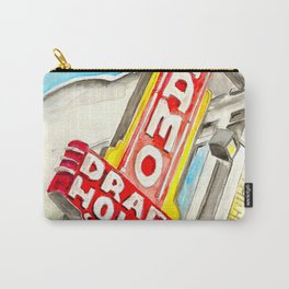 Alamo Drafthouse watercolor Carry-All Pouch