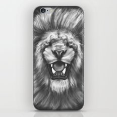 Courageous (Original drawing) iPhone & iPod Skin
