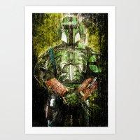 Vorpan Ky'ram - Deadly Rain Art Print
