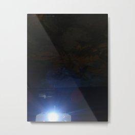 Data Projector Metal Print