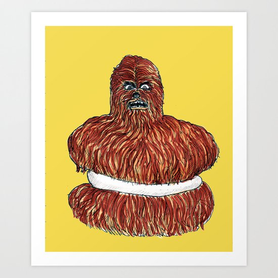 wookie pie Art Print
