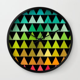 The triangles Wall Clock