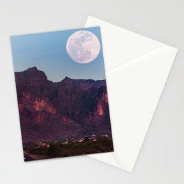 Super Blue Moon over Arizona #society6 #decor #buyart Stationery Cards