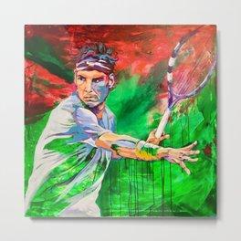 "Rafael ""Rafa"" Nadal Parera - Association of Tennis Professionals - Balearic Islands - hgt6 Metal Print"