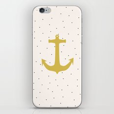Anchor Poua iPhone & iPod Skin