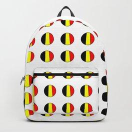 Flag of belgium 7 belgian,belge,belgique,bruxelles,Tintin,Simenon,Europe,Charleroi,Anvers,Maeterlinc Backpack