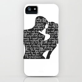 Wonder of You iPhone Case