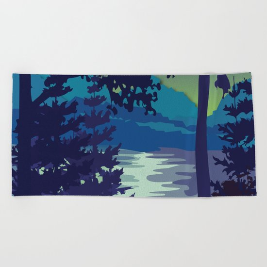 My Nature Collection No. 6 Beach Towel