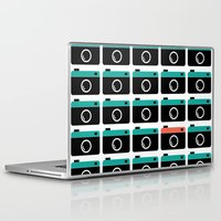 cameras Laptop & iPad Skins featuring cameras by Sahar