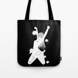 Ahyma - Black Rain Tote Bag