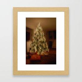 """Christmas Tree - """"S"""" Framed Art Print"""