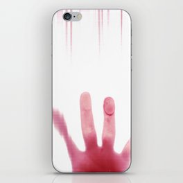 blood hand iPhone Skin