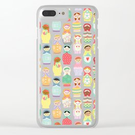 Girl Power Clear iPhone Case