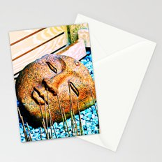 The mind can read what words cannot convey Stationery Cards