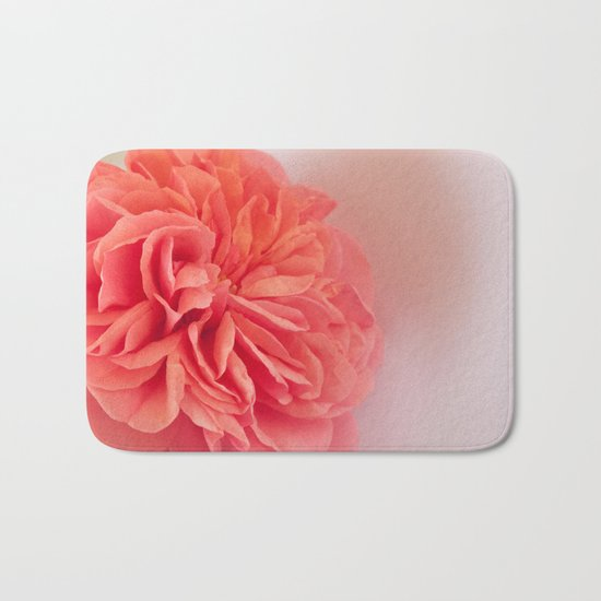 A Touch of Love - Pink Rose #2 #art #society6 Bath Mat