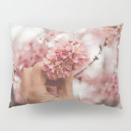 Pick Pink Flowers (Color) Pillow Sham