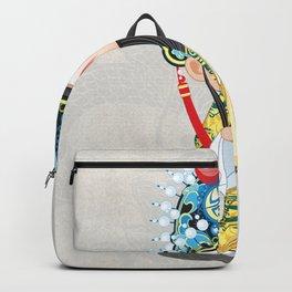 Beijing Opera Character LiuBei Backpack