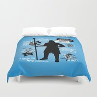 dragon age Duvet Covers featuring Dragon Age - Anders by firlachiel