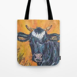 The Cow's Nose Tote Bag