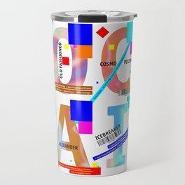 Cocktail - C O C K T A I L Travel Mug