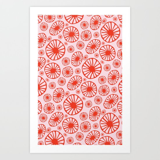 Little Cherry Blossom Art Print