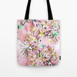 FLORAL ARROW Tote Bag