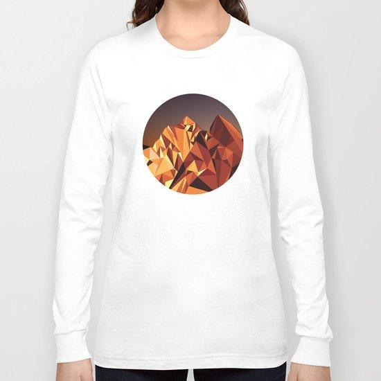 Night Mountains No. 7 Long Sleeve T-shirt