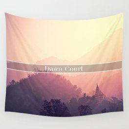 Dawn Court Wall Tapestry