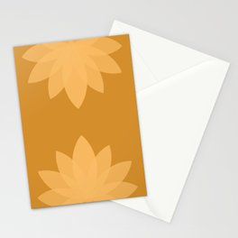 Minimal Lotus Flower XIII Stationery Cards
