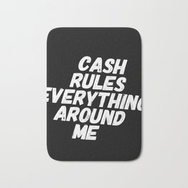 Cash Rules CREAM Bath Mat