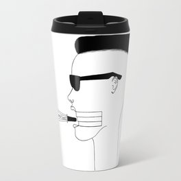 Voici ma voix, Mon arme de choix / This is my voice, my weapon of choice Travel Mug