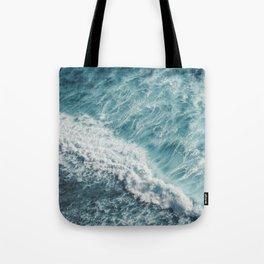 Saltwater Feelings Ocean Surf Tote Bag
