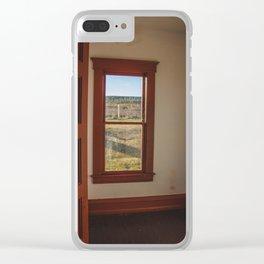 Hurd Round House, Wells County, North Dakota 35 Clear iPhone Case