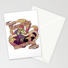 Le Roi Est Mort Stationery Cards