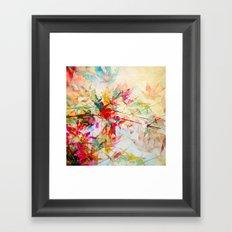 Abstract Autumn 2 Framed Art Print