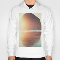 modern Hoodies featuring This is where I want to be... by Kurt Rahn