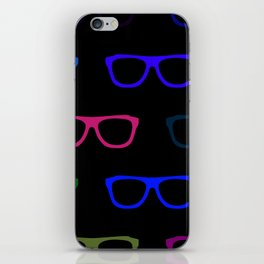 Colorful Specs iPhone Skin