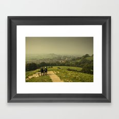 Misty View  Framed Art Print