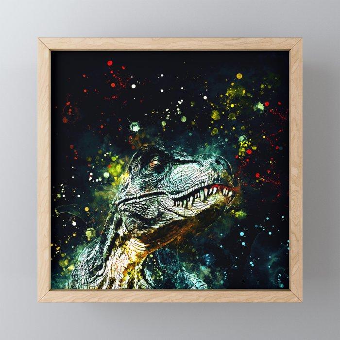 tyrannosaurus rex wstg Framed Mini Art Print