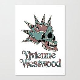 Vivienne Westwood Skull Canvas Print