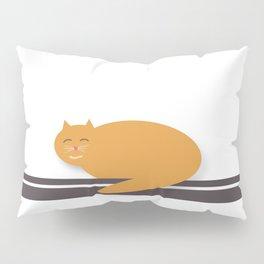 Happy Cat Nap Pillow Sham