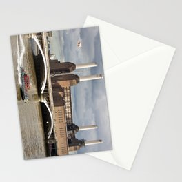 Battersea Power Station with Pink Floyd Pig Stationery Cards