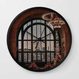 Union Station - Christmas Wall Clock
